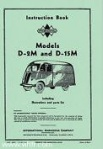 D-2M & D-15M instruction book