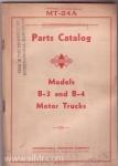 B-3-4 Parts Manual cover