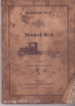 B-3 Owners Manual Cover