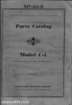 Model C-1 parts catalog MT-26-B