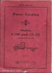 Model C-30 CS-30 parts catalog mt-30a page 00 front cover
