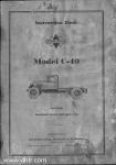 Model C-40 instruction book