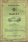 Model D-2 Page 00 front cover