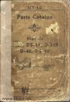 Model D35 DS35 D35B D40 DS40 parts catalog Page 00 front cover