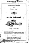 Model Dr-426F Page 00 front cover