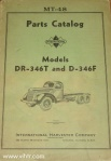 Model DR-346T and D-346F parts catalog MT-48