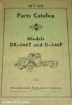 Model DR-346T and D-346F parts catalog MT-48