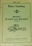 MT-46 Model D-216T and DS-216T parts catalog