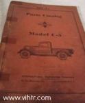 Model C-5 parts catalog MT-31